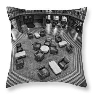 Escher's Study Throw Pillow
