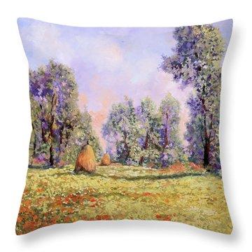 Esercizi Impressionisti Throw Pillow