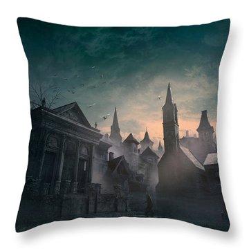 Esoteric Order Of Dagon Throw Pillow