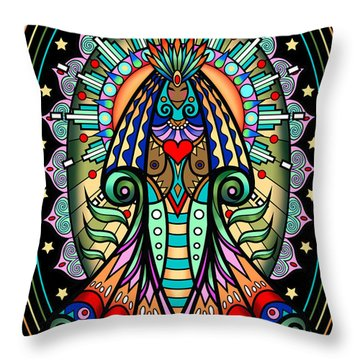 Espiritu 1- Goddess Throw Pillow