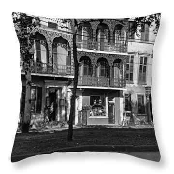 Esplanade Ave Throw Pillow
