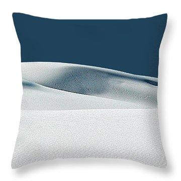 White Sands Throw Pillows