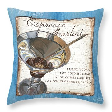 Espresso Martini Throw Pillow