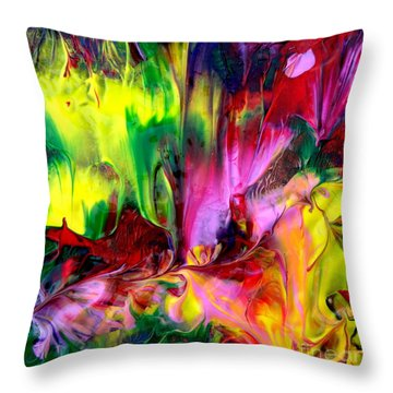 Essence Throw Pillow by Fred Wilson