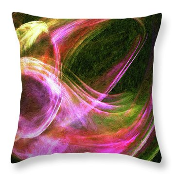 Essence Throw Pillow by Michael Durst
