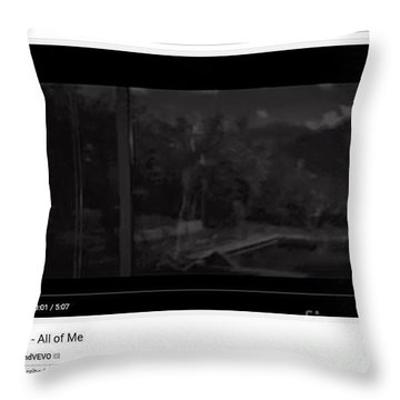 Essence Of All Of Me By John Legend Throw Pillow