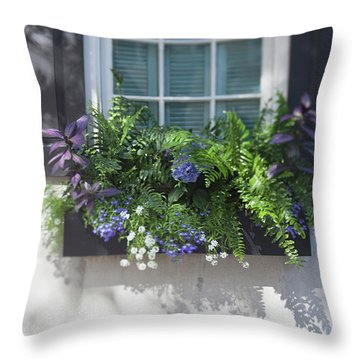 Throw Pillow featuring the photograph Essence Of Charleston by Heather Green