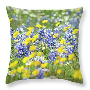Essence Of Colors Throw Pillow