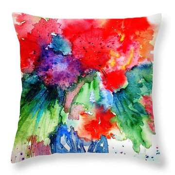 Essence Of Summer Throw Pillow