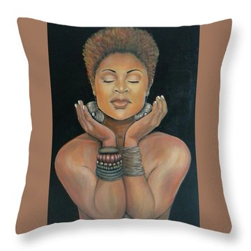 Essential Essence Throw Pillow