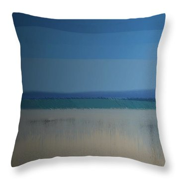 Throw Pillow featuring the digital art Essentials by Gina Harrison