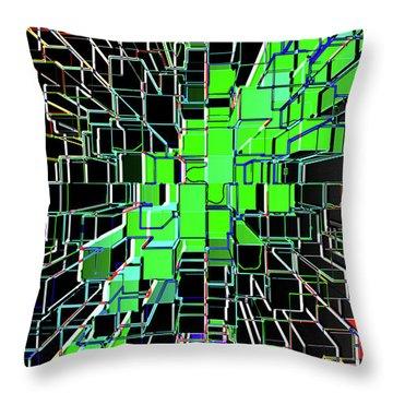Establishing Connections Throw Pillow