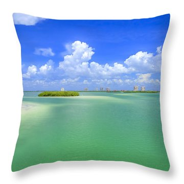 Estero Bay Throw Pillow