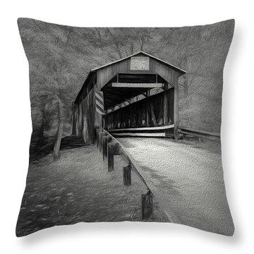 Esther Furnace No 8 Throw Pillow