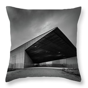 Estonian National Museum Throw Pillow