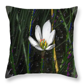 Estuary Elegance Throw Pillow by Tim Allen
