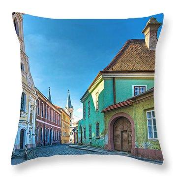 Esztergom Pastels Throw Pillow