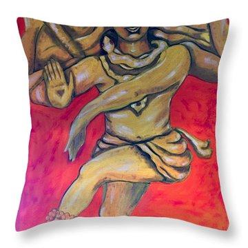 Eternal Dancer Throw Pillow