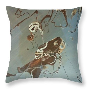 Eternal Fish Throw Pillow