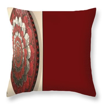 Eternal Hearts Throw Pillow