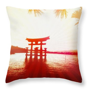 Eternal Japan Throw Pillow