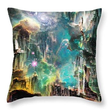 Eternal Kingdom Throw Pillow