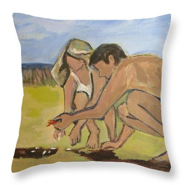 Eternal Offering Throw Pillow