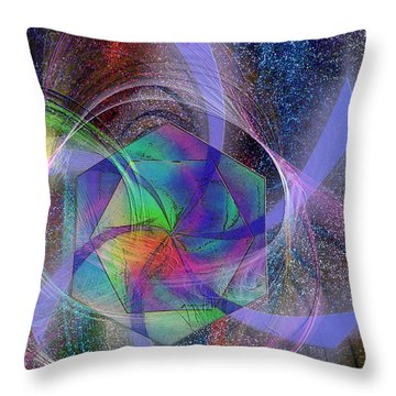 Eternal Reactions Throw Pillow