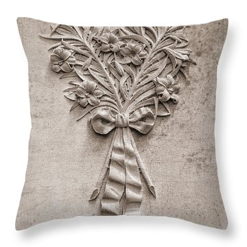 Eternal Lilies Throw Pillow
