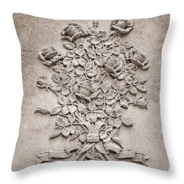 Eternal Rose Throw Pillow