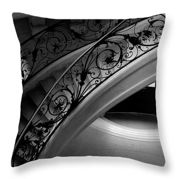 Eternal Staircase Throw Pillow