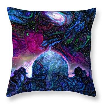 Eternal Temple Throw Pillow