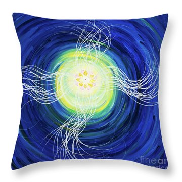 Eternal Thoughts Throw Pillow