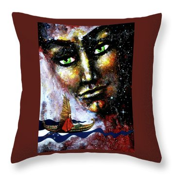 Eternal  Voyage Throw Pillow