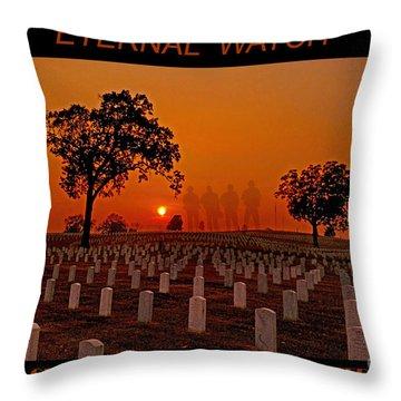 Eternal Watch Throw Pillow