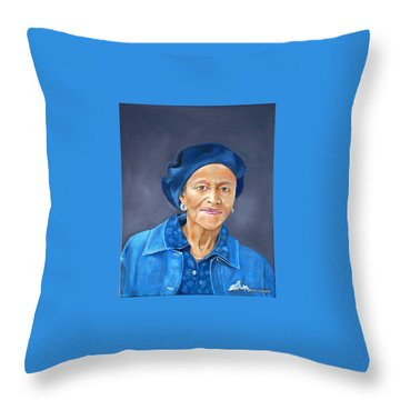 Ethel Pearl Throw Pillow