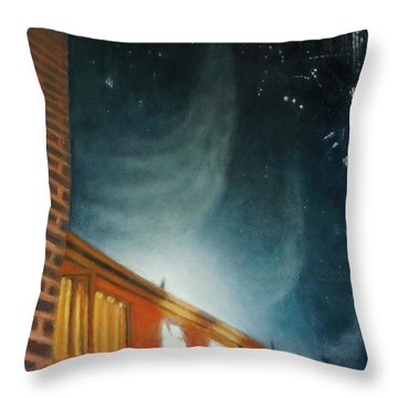 Ethercast Throw Pillow