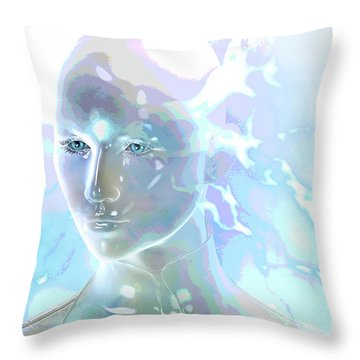 Ethereal Spirit Throw Pillow by Shadowlea Is