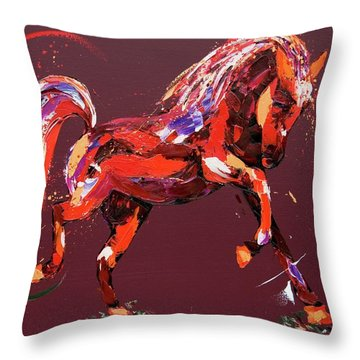 Ethereal Dream Throw Pillow by Penny Warden