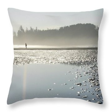 Ethereal Reflection Throw Pillow