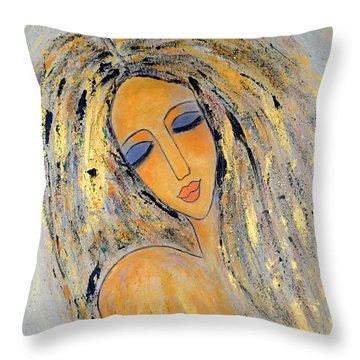 Ethereal Stillness  Throw Pillow