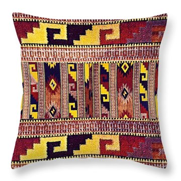 Ethnic Tribal Throw Pillow