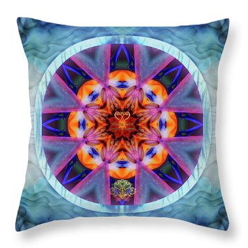 Eudaimonia-custom1 Throw Pillow