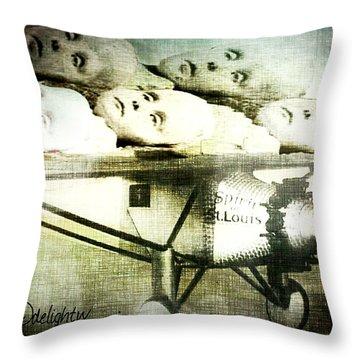 Eugenics 101 Throw Pillow