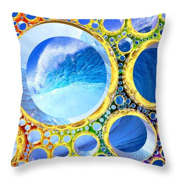 Euphoria Throw Pillow by Andreas Thust
