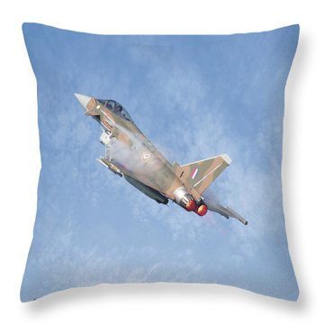 Eurofighter Throw Pillow by Roy McPeak