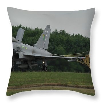 Eurofighter Typhoon Fgr4 Throw Pillow