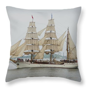 Europa Throw Pillow by Mike Ste Marie