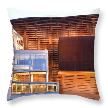Euskalduna Center Bilbao Spain Throw Pillow by Marek Stepan
