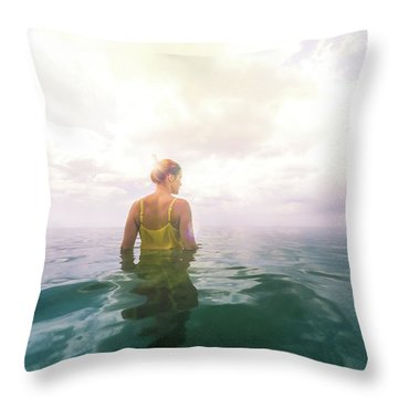 Eutierria Throw Pillow